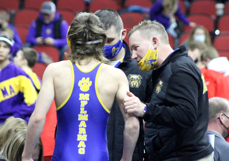 By Audrey Posten, Times-RegisterAfter a busy week at the state tournament, MFL MarMac wrestling head coach Chet Bachman finally stopped and took a breath Saturday night. Back at the team hotel, he sat with his brother, as well as one of the team's assistant coaches, Collin Stubbs....