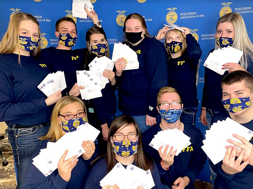 By Correne MartinThe National FFA Organization is not just about cows and plows anymore. It's more about job seekers and speakers, and there's so much beyond that.This National FFA Week, Feb. 20-27, one of Wisconsin's 10 state FFA officers, Bloomington native Kendra...
