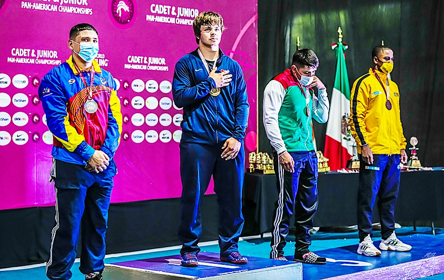 By Ted PennekampTyler (Truck) Hannah, a 2020 Prairie du Chien High School graduate, had a great week at the Junior Pan American Championship in Oaxtepec, Mexico from June 7-14.Truck took the gold medal in the 87KG (191.8 pounds) in Greco Roman wrestling, and then topped off his week by...