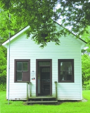 One of two grants recently received by Clayton County Conservation will be used to create interpretive panels for the 1908 schoolhouse in Pioneer Village.